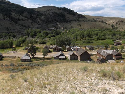 Bannack City Montana
