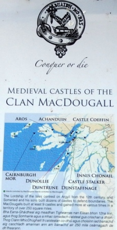 The area once claimed by Clan MacDougal