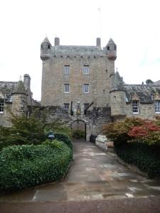 Cawdor Castle, seat of Campbels of Cawdor