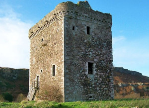 """The fictional """"Andrath Tower"""" is actually Little Cumbrae Castle"""