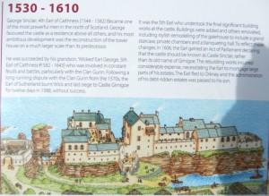 Castle Girnigoe in Alana 's time
