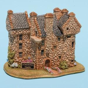 Claypotts Castle, by Viv Morston, Lilliput Lane TM