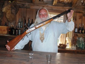 Old Walt Chamberlain was a mountain man, proud of his skill with his rifle as well as his knife