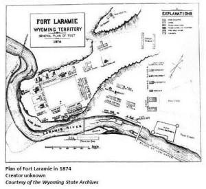 Fort Laramie, 1874