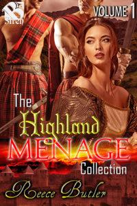 cover, Highland Menage vol 1 boxed set